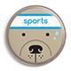 punto cane sportivo
