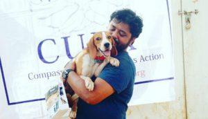 beagle salvati da un laboratorio