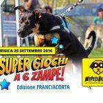 Super Giochi a 6 Zampe edizione Franciacorta – 25/09/2016