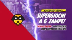 Supergiochi a 6 Zampe ed. Milano 2018