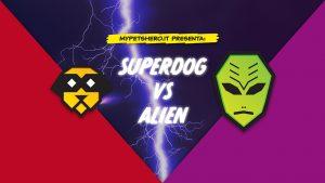 Superdog Vs Alien ed. QUATTROZAMPEINFIERA MILANO 2018