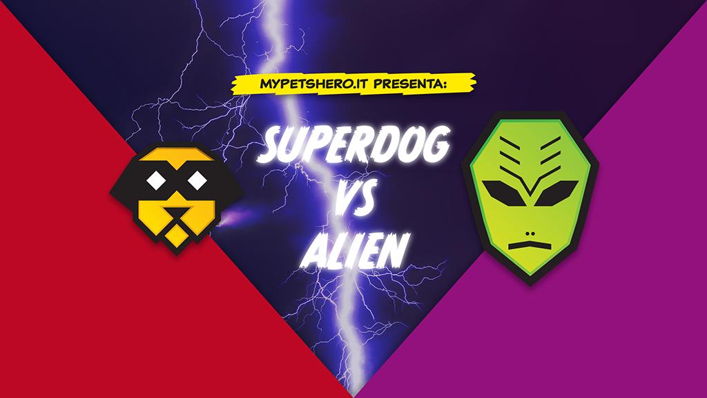 supercani contro alieni